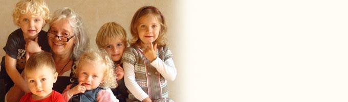 Kleinschalige is erg belangrijk in HET BONTE HUIS, een kleine groep met maximaal 7 kinderen